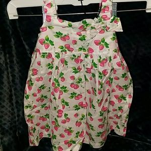 KoalaKids Strawberry Dress